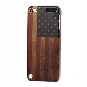 Apple iPod Touch 5G Design Plastik cover fra inCover - Stars and Stripes