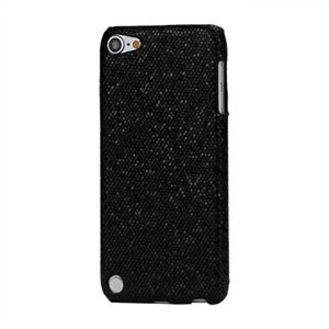 Apple iPod Touch 5G Design Plastik cover fra inCover - sort glitter