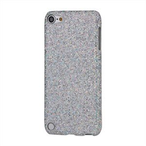 Apple iPod Touch 5G Design Plastik cover fra inCover - sølv glitter