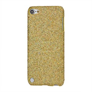 Apple iPod Touch 5G Design Plastik cover fra inCover - guld glitter