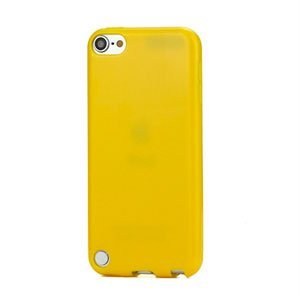 Apple iPod Touch 5G TPU cover fra inCover - gul