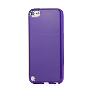 Apple iPod Touch 5G TPU cover fra inCover - lilla