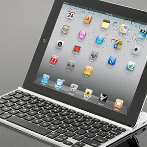 Image of ZAGGfolio tastatur til iPad 2, 3 og 4 - sølv